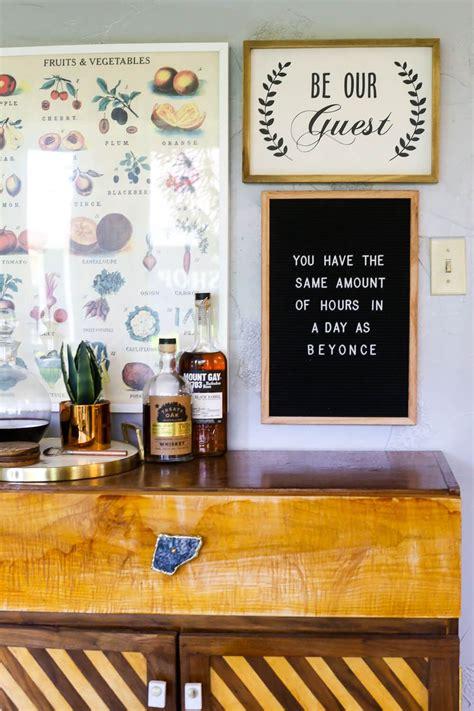 tips tricks    felt letter board   home