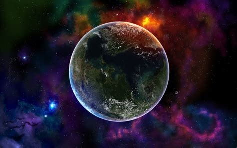 little space wallpaper a small planet in the vast space wallpapers and images