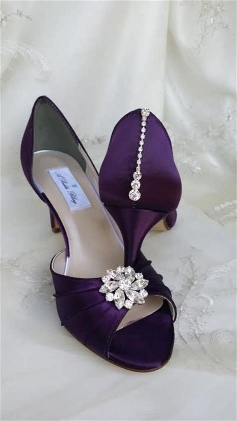 Wedding Shoes Color by 17 Best Ideas About Purple Wedding Shoes On