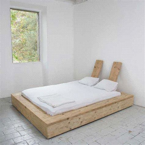 Reclaimed Wood Platform Bed Diy Reclaimed Wood Platform Bed For The Home
