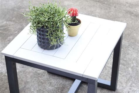 pottery barn patio table diy outdoor side table pottery barn knockoff