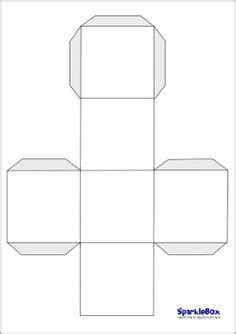 printable large dice template printable 3d cube template color it cut it out fold it