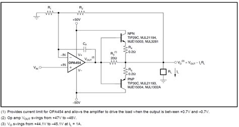 transistor lifier output voltage op how to determine current limiting resistor values for push pull lifier driven by op