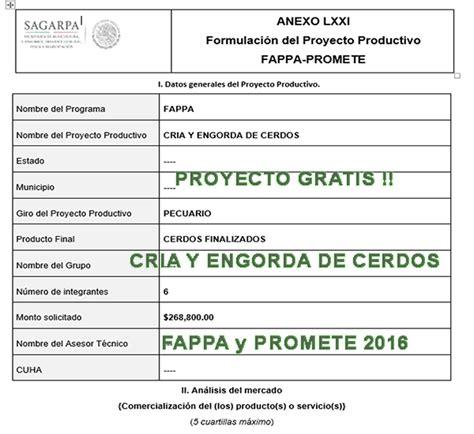 sagarpa listado de veneficiarios 2016 listado fappa y promete 2016 proyecto gratis cr 237 a y