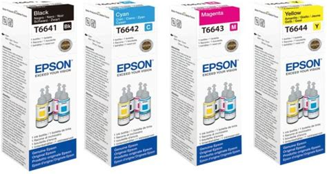 Cartridge Printer Epson L220 epson ink set for l210 l220 l300 l355 l365 l555 l1300 price review and buy in uae dubai abu