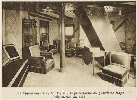 apartment in eiffel tower the eiffel tower has a secret apartment and here is a