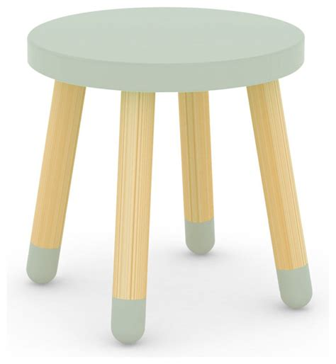 flexa stool in mint green modern stools