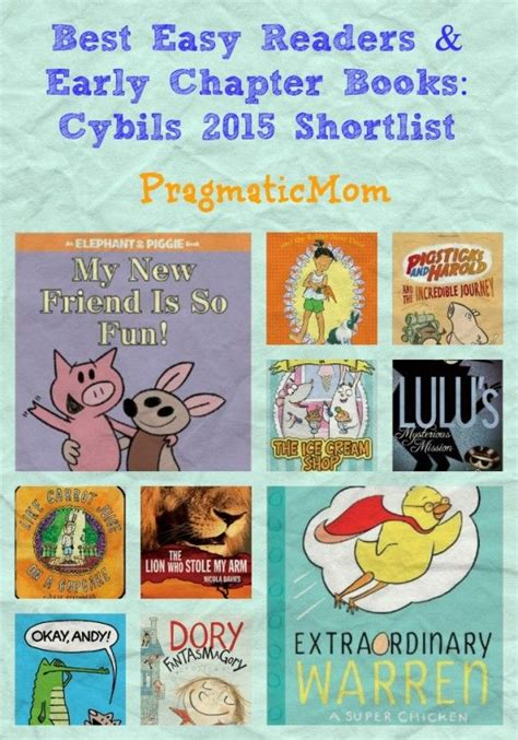 best easy readers early chapter books cybils 2015