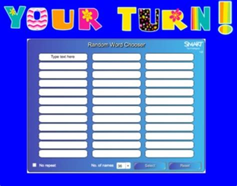 random name generator random name and generator for smartboard free tpt