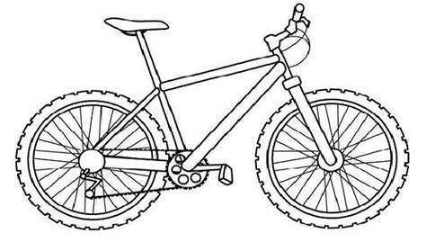 bicycle coloring pages preschool coloring pages coloring and bikes on pinterest