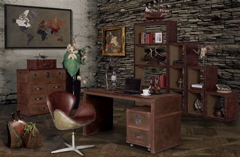 vintage industrial office furniture best decor things