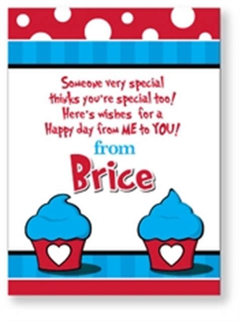 dr seuss valentines day personalized valentines