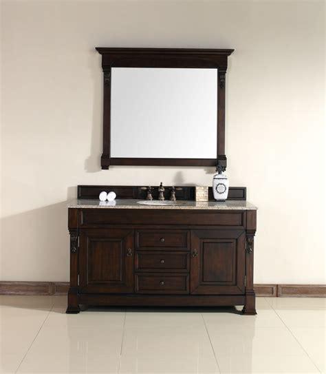 60 inch bathroom vanity 60 inch single sink bathroom vanity in mahogany