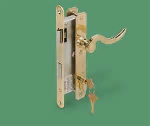 82 400 brass atrium door lever lockset swisco