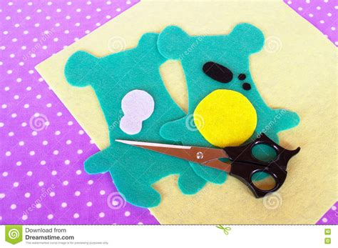 sewing project for children teddy bear patterns cut from