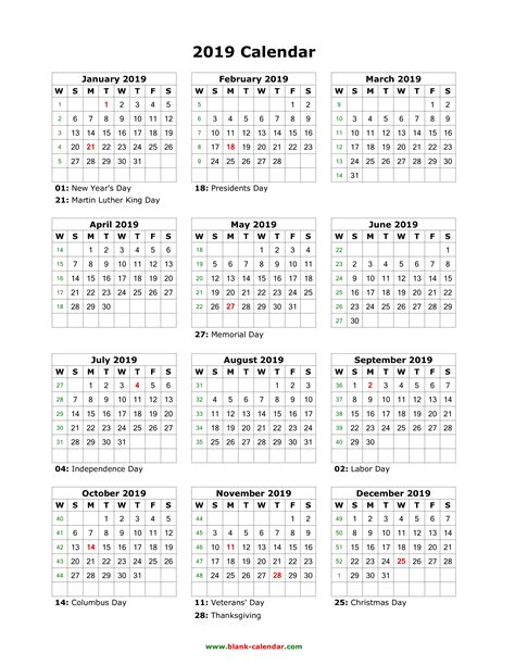 6 7 2015 yearly calendar printable samplenotary com