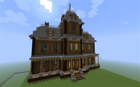 build a mansion cool things to build in minecraft halloween special