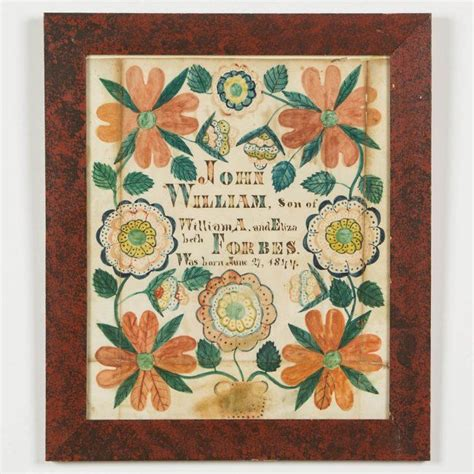 Birth Records Virginia 17 Best Images About Virginia Fraktur On