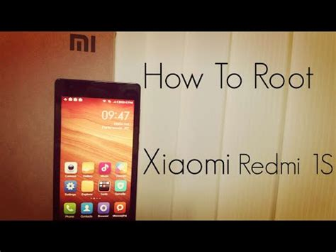 tutorial root xiaomi note 2 tutorial how to root and unroot xiaomi redmi 1s miui rom