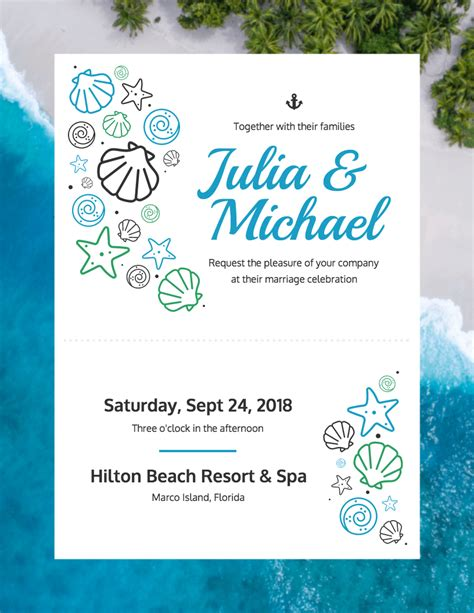 19 Diy Bridal Shower And Wedding Invitation Templates Venngage Free Wedding Announcement Templates