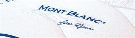 Materasso Ergonomico by Materassi Ergonomici In Memory Foam Mont Blanc Linea Riposo
