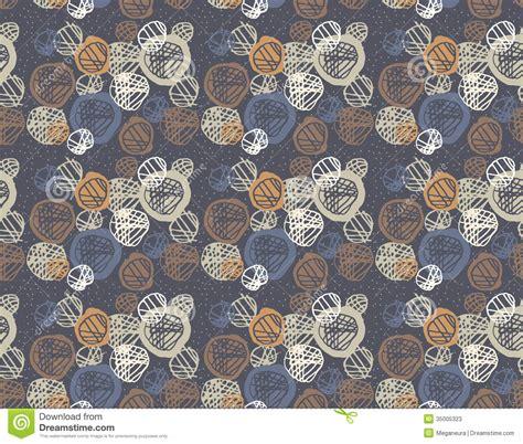 simple vintage pattern seamless pattern of simple geometry retro style illustration