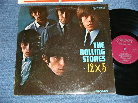 No Fc Wilston Maroon 2 the rolling stones 12 x 5 unboxed on top label