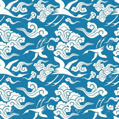 japanese pattern wind vector traditional japanese seamless patterns with