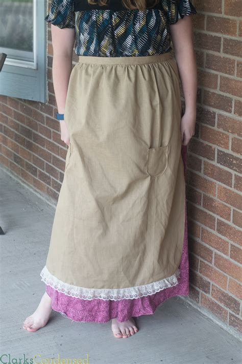 pioneer  apron pattern allfreesewingcom