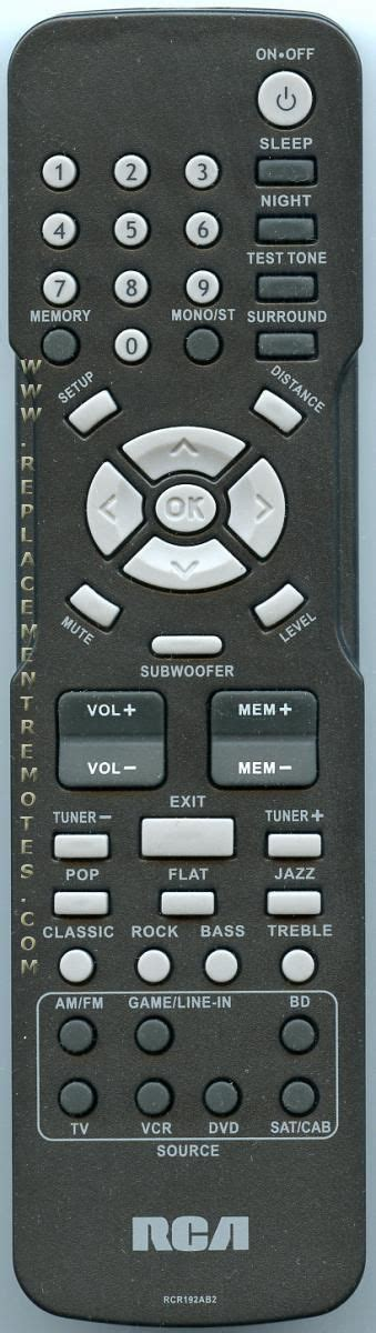 buy rca rt2906 rcr192ab2 home theater system remote