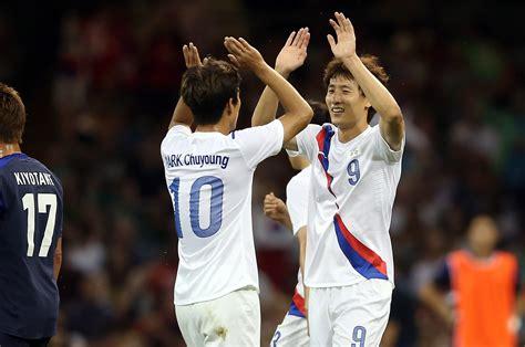japan  south korea olympic soccer bronze medal grades
