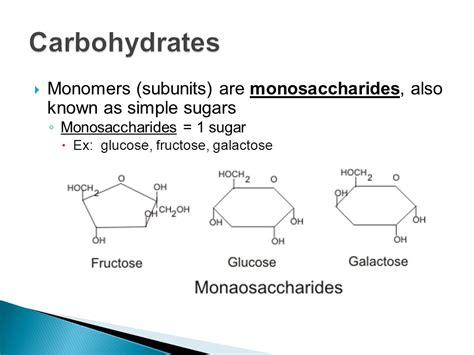 carbohydrates ex 2 3 biomolecules ppt