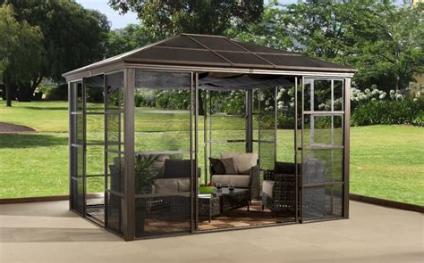home depot awnings clearance gazebo design astonishing portable gazebo with screen