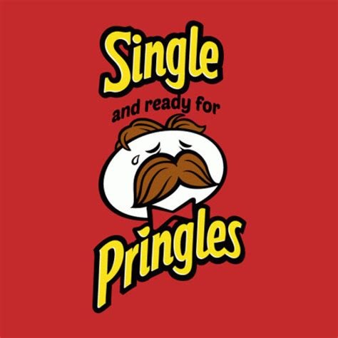 Pringles Meme - single and ready for pringles tshirtvortex