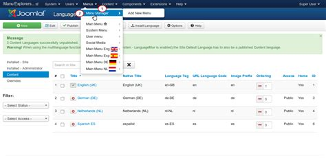 joomla 3 x how to create theme localization template joomla 3 x how to remove already installed language