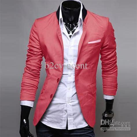 Dasi Slim Pink slim fit blazer trendy clothes