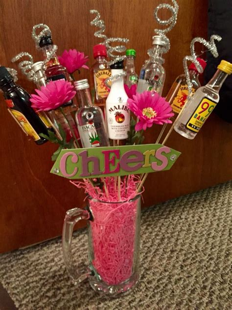 christmas party prize ideas booze bouquet for a raffle prize birthday gift or bachelorette can be