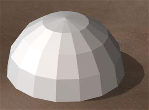 trapezium dome design