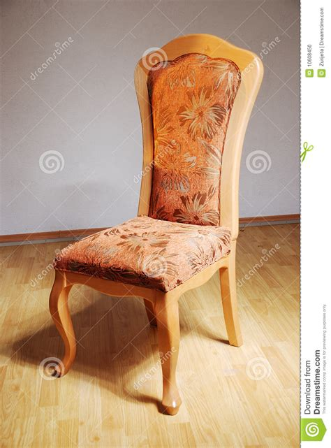 stylized chair in the studio stock photo image 10608450