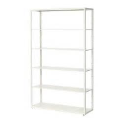 White Metal Shelf Unit by Fj 196 Lkinge Shelf Unit