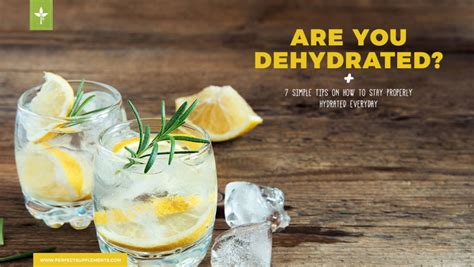 hydration quiz questions quiz are you dehydrated plus 7 simple tips on how to stay