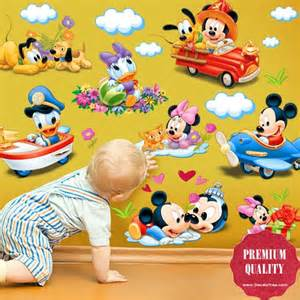 Baby Mickey Mouse Wall Stickers Disney Baby Mickey Mouse Wall Decals