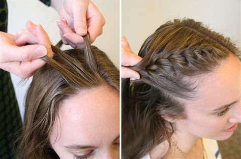 how to french braid bangs to the side easy step by step 15 braided bangs tutorials cute easy hairstyles pretty