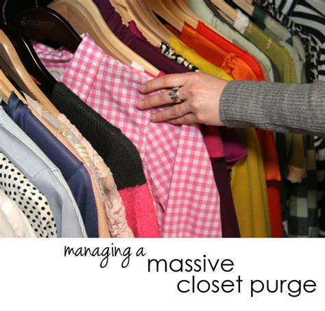 How To Purge Your Closet | reader request managing a massive closet purge already