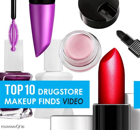 10 Drugstore Make Up Picks That Wont The Bank by My Top 10 Drugstore Makeup Finds Fountainof30