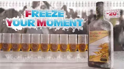 bicchieri amaro capo freeze your moment 201 il nuovo spot vecchio amaro
