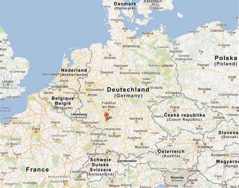 manheim germany map mannheim haritası