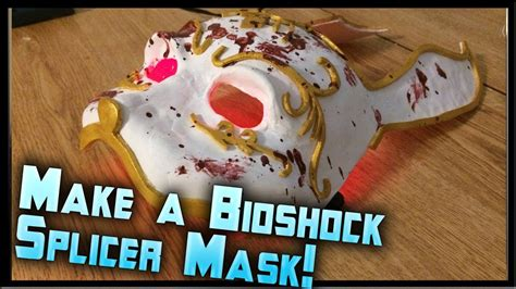 Splicer Mask Papercraft - how to make a bioshock splicer mask bioshock splicer