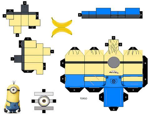 Minion Papercraft - all minions papercraft papercraft toys arte de papel