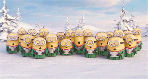 wallpaper gif minions photo collection minions christmas gif of